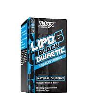 NutrexLipo 6 Black Diuretic80 black-caps Nutrex