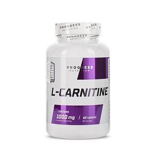 Л-Карнитин Progress Nutrition 1000 мг 60 таблеток Progress Nutrition