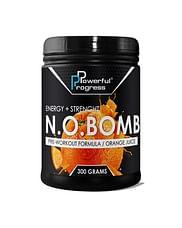 Предтренировочный комплекс Powerful Progress N.O.BOMB ENERGY + STRENGHT 300 г Powerful Progress