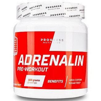 Предтренировочный комплекс Progress Nutrition Adrenaline (300 грамм.) Progress Nutrition