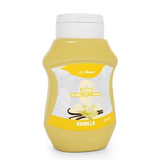 Низкокалорийный ванильный сироп GymBeam