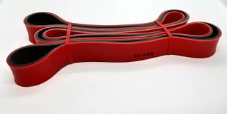 Резина для тренировок с натяжением 22-40 кг.