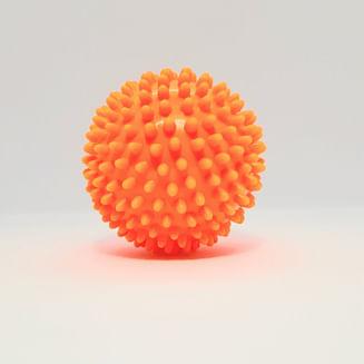 Мяч МРФ массажный с шипами 9см (разные цвета)
