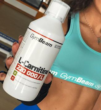Gymbeam L-карнитин (для похудения, жиросжигания, сушки) GymBeam