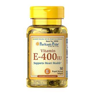 Puritan's PrideVitamin E-180 mg (400 IU)50 softgels Puritan's Pride