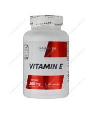 Витамин E, 400 мг, 60 капсул, Progress Nutrition Progress Nutrition