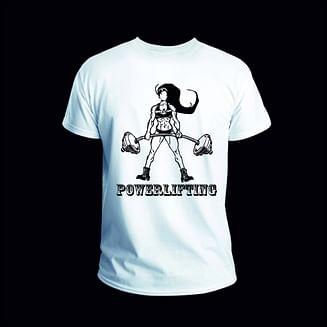 Женские футболки белые с принтом на груди KRAWA