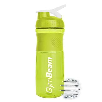 Шейкер Sportmixer Green White 760 ml GymBeam