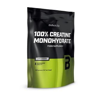 КреатиныBioTech100% Creatine Monohydrate (пакет)500 g BioTech