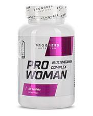Витамины женские PRO WOMEN PROGRESS NUTRITION (60 ТАБЛЕТОК) Progress Nutrition