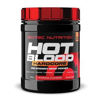 Предтренировочники, NOScitec NutritionHot Blood Hardcore375 g Scitec Nutrition