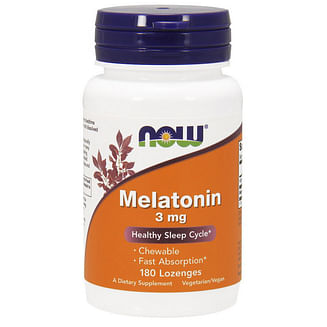 Мелатонин NOWMelatonin 3 mg 180 lozenges NOW