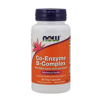 NOWCo-Enzyme B-Complex60 veg caps NOW