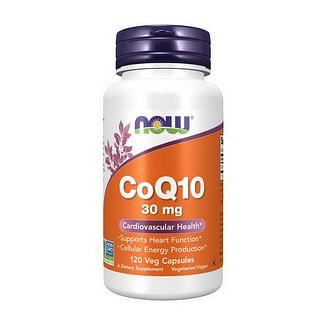 NOWCoQ10 30 mg 120 veg caps NOW