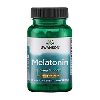 Мелатонин SwansonMelatonin 3 mg 120 caps Swanson