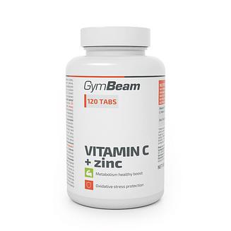 Вітамін C + цинк - GymBeam GymBeam