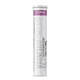 Магний Magnesium chelate + B6 - GymBeam GymBeam