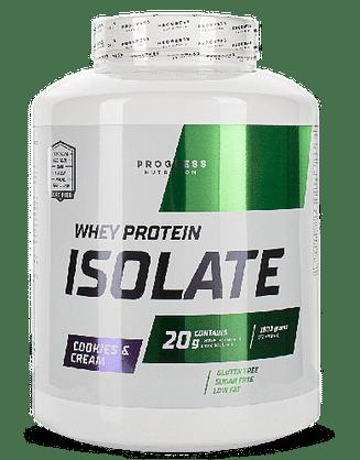 Сывороточный протеин изолят Progress Nutrition Whey Protein Isolate 1800 г Progress Nutrition