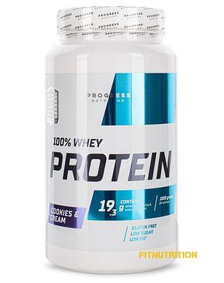 100% Whey Protein Progress Nutrition 1 кг Progress Nutrition