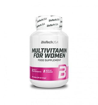 Витамины BioTech USA Pink Fit Multivitamin for women 60 таблеток BioTech