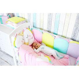 Комплект постельного белья в детскую кроватку Единорог 6774489775 ТОПОТУШКИ