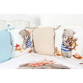 Комплект постельного белья Топотушки Морской круиз (6 предметов) 6854489807 (tam) ТОПОТУШКИ