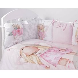 Комплект белья в детскую кроватку 6 предметов Топотушки Принцесса Фей 6944489866 ТОПОТУШКИ