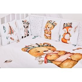 Комплект белья в детскую кроватку 6 предметов Топотушки Охотники 6924489875 ТОПОТУШКИ
