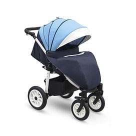 Прогулочная коляска Camarelo Eos (E-05 голубой-т.синий белый)5142791 Camarelo