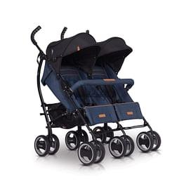 Прогулочная коляска easyGO Duo Comfort 2019 (denim)