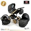 Детская коляска Adbor Ottis Gold OG-02 2 в 1 Adbor