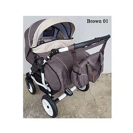 Детская коляска для двойни Adbor Duo Stars 5186330