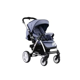 Прогулочная коляска Quatro Monza (синий лен)5193592 Quatro