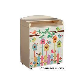 Детский пеленальный комод Антел Лилу 3 / Кедр Fantasia 800/4 МДФ5205683 Антел