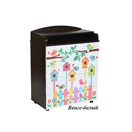 Детский пеленальный комод Антел Лилу 3 / Кедр Fantasia 800/4 МДФ5211534 Антел