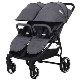 Прогулочная коляска для двойни Rant BiPLANE Trends RA150 graphite