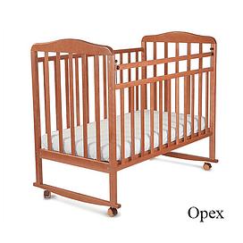 Детская кроватка 16011 орех СКВ Митенька