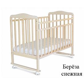 Детская кроватка 160115 снежная берёза СКВ Митенька