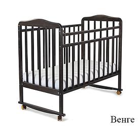 Детская кроватка 160118 венге СКВ Митенька
