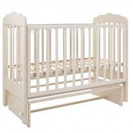 Кровать детская 120*60 (арт.89) маятник без/ящ. (слоновая кость) (tam) ТОПОТУШКИ Мария -4