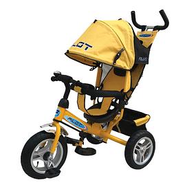 Велосипед трехколесный цвет желтый TRIKE Pilot PTA3