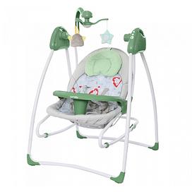 Колыбель-качели детские CARRELLO CRL-7502 Grazia Jade Green