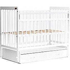 Детская кроватка Bambini Euro Style М / 01.10.04 (белый)