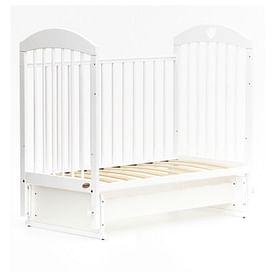 Детская кровать Bambini Comfort М / 01.10.20 (белый)