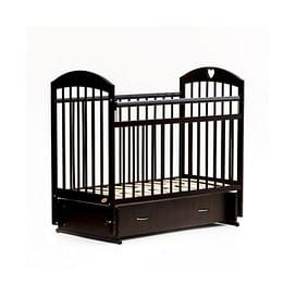Детская кровать Bambini Comfort М / 01.10.19 (темный орех)