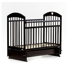 Детская кровать Bambini Comfort М / 01.10.20 (тёмный орех)