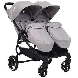 Прогулочная коляска для двойни Rant BiPLANE Trends RA150 grey