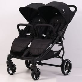 Прогулочная коляска для двойни Rant BiPLANE RA146 black