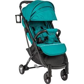 Прогулочная коляска (черная база, бирюзовый) Sundays Baby S600 Plus