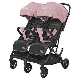 Прогулочная коляска CARRELLO Presto Duo / CRL-5506 (Cherry Pink)